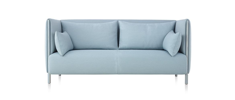 Canapé-bleu-turquoise-grand-design-herman-miller