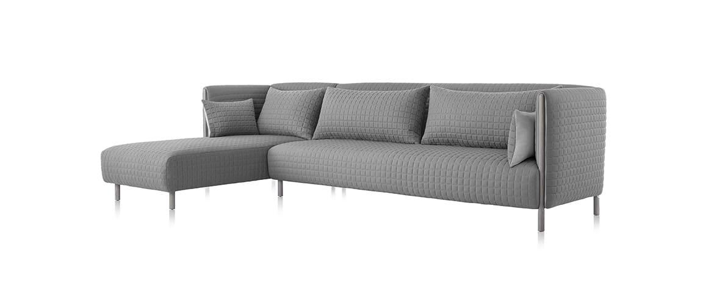 Canapé-grise-design-herman-miller
