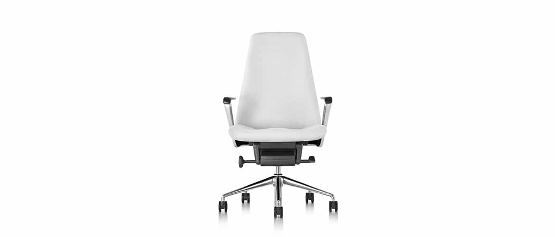 Chaise-bureau-en-tissu-blanche-herman-miller