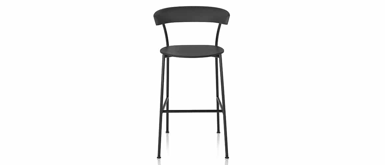 Chaise-longue-noir-herman-miller-leeway