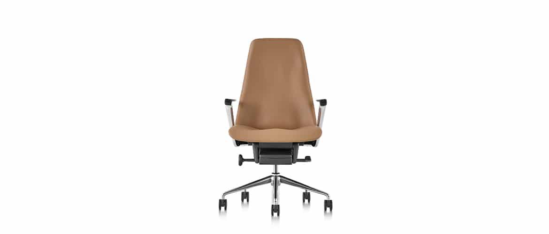 Chaise-bureau-en-cuire-marron-herman-miller1
