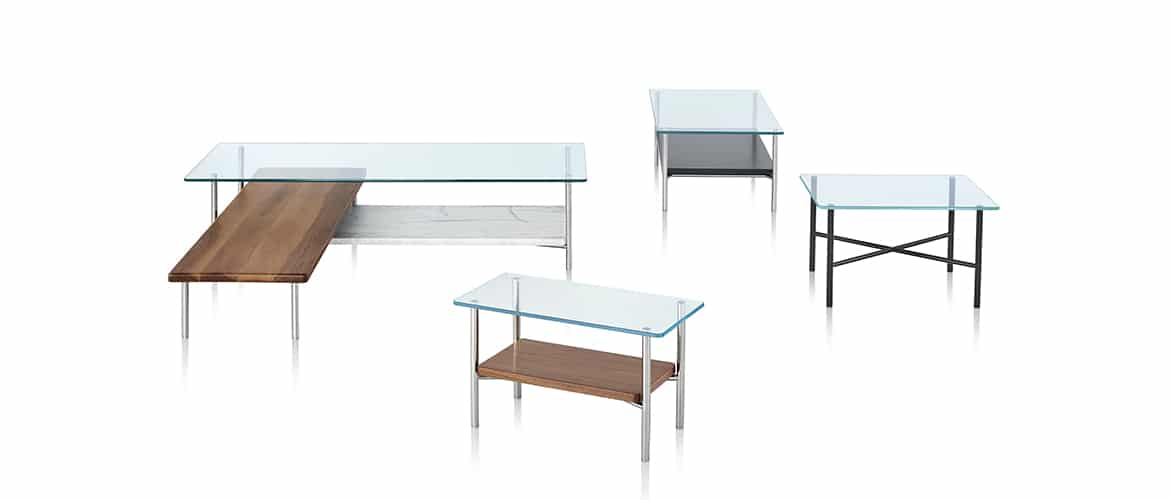 variations de table Herman Miller collection