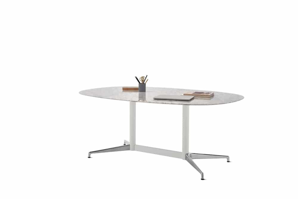 Table-civic-blanche-marbre-mobilier-de-bureau-herman-miller